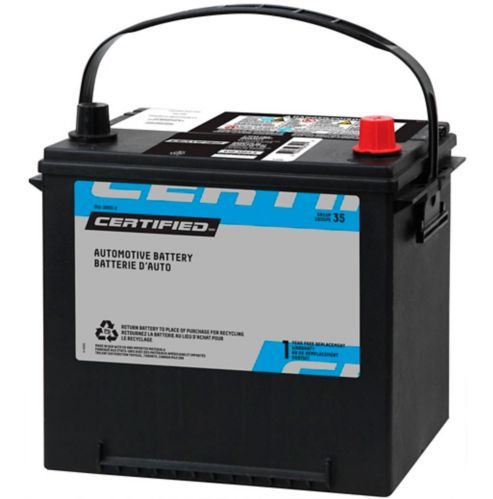 CERTIFIED Group Size 35 Battery, 525 CCA