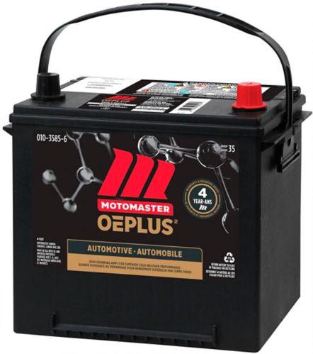 MOTOMASTER OEPLUS Group Size 35 Battery, 640 CCA