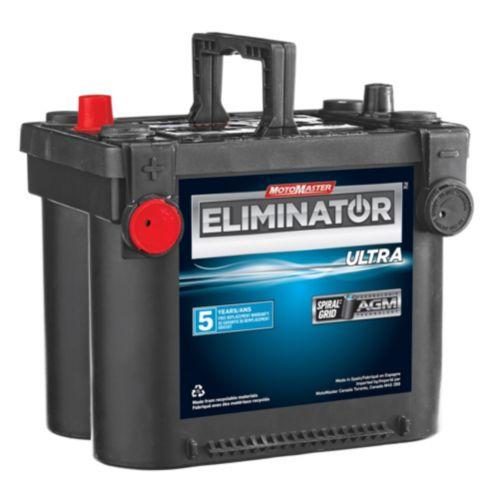 Batterie MotoMaster Eliminator, éléments cylindriques