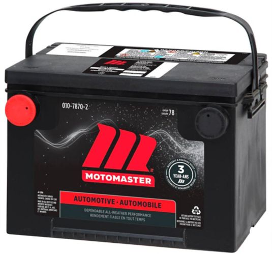 MOTOMASTER Group Size 78 Battery, 800 CCA