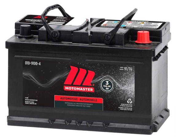 MOTOMASTER Group Size 91 (T6/LB3) Battery, 700 CCA