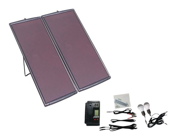 NOMA 50W Amorphous Solar Panel Kit