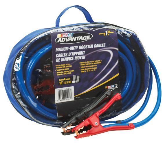 Nascar Advantage 16-ft Booster Cables
