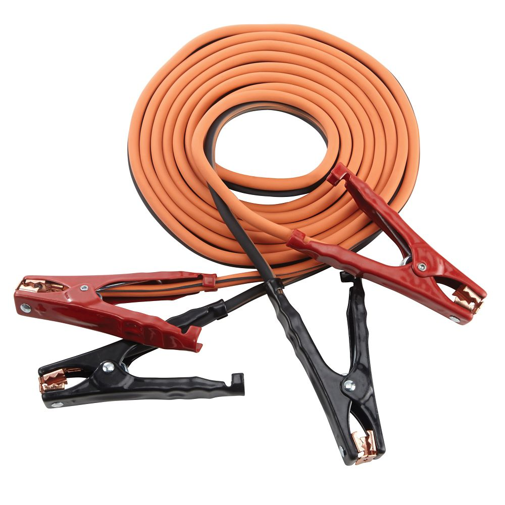 Motomaster Eliminator Heavy-Duty Booster Cables, 16-ft, 4 gauge