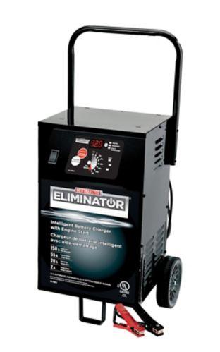 Chargeur de batteries sur roues MotoMaster Eliminator, 55/20/2 A, démarrage du moteur de 150 A