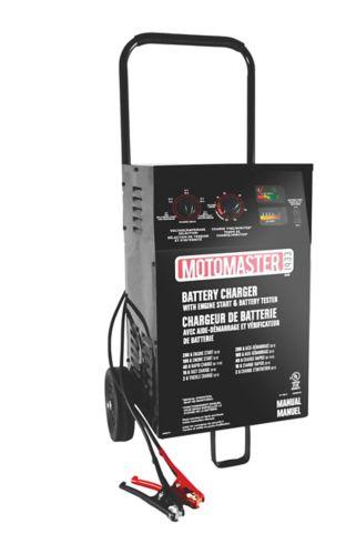 Chargeur de batterie MotoMaster, 40/10/2 A, démarrage 200 A