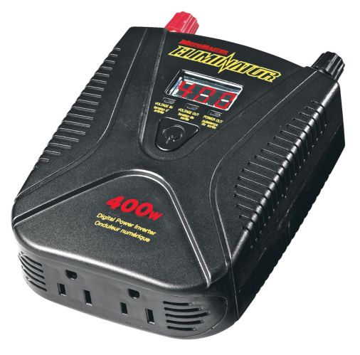 MotoMaster 400W Mobile Power Outlet and Inverter