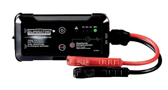 MotoMaster Eliminator 750A Lithium-Ion Booster Pack and Power Bank