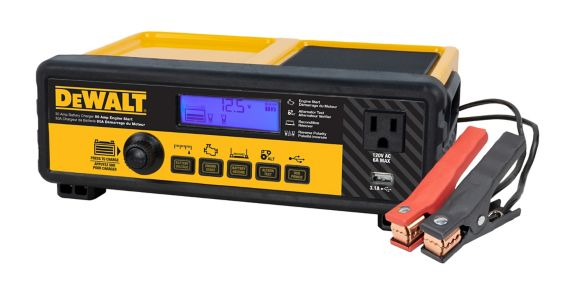 DEWALT30A Battery Charger with 80A Engine Start