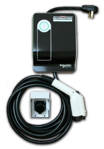 30A Level 2 Electric Vehicle Home Charging Station, Plug-in