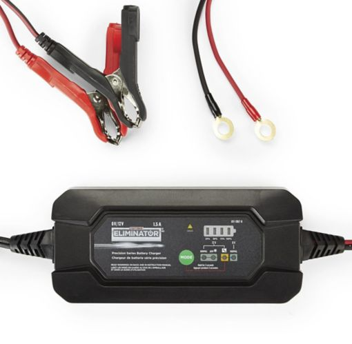 MotoMaster Eliminator Precision Series 1.5A Battery Charger & Maintainer