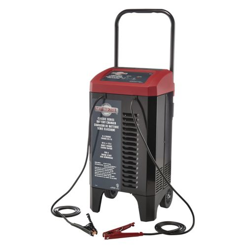MotoMaster Classic Series 15/6A Wheeled Battery Charger with 200A Engine Start