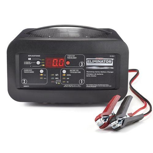 MotoMaster Eliminator Workshop Series 15/3A Battery Charger