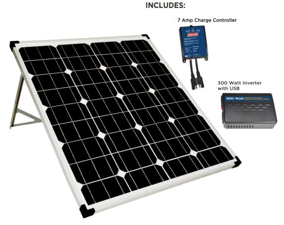 Panneaux solaires Coleman avec support, 80 W