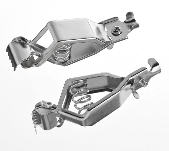 MotoMaster Battery Charging Clips, 25A