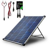NOMA 100W Solar Kit with Stand & Charge Controller