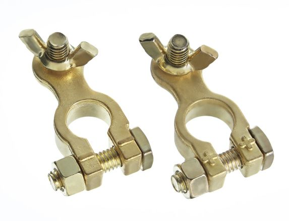 MotoMaster Marine Battery Terminals, Brass