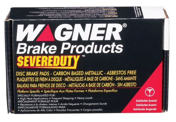 Wagner Severe Duty Brake Pad Set, Front