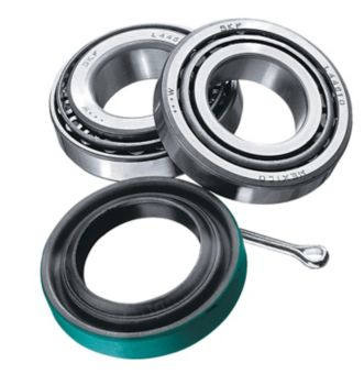 SKF 24 Trailer Seal & Bearing Kit (1-in Axle)