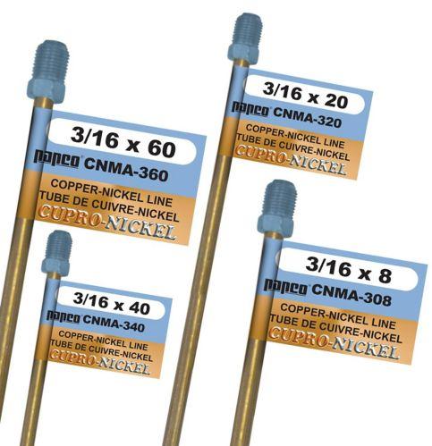 Conduite de frein en nickel H. Paulin CNMA360, japonais, 60 x 3/16 po