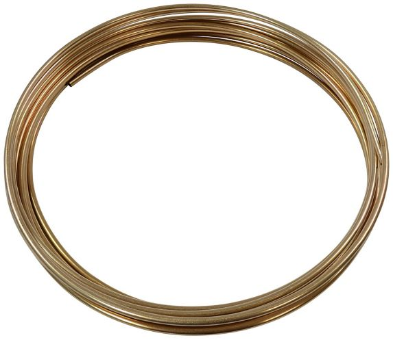 H. Paulin CN325 Copper Nickel Bulk Brake Line, 3/16-in x 25-ft