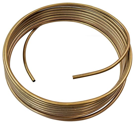 H. Paulin CN425 Copper Nickel Brake Line, Standard, 25-ft x 1/4-in