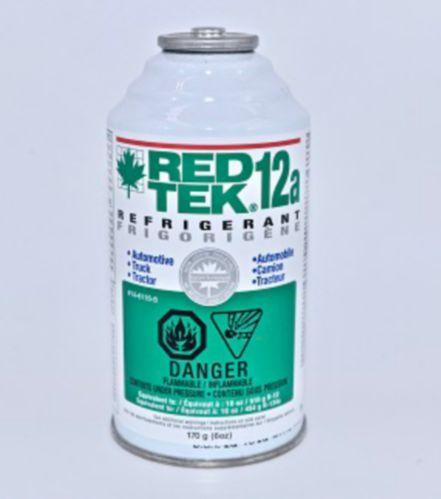 Frigorigène RED TEK 12a en aérosol, 6 oz