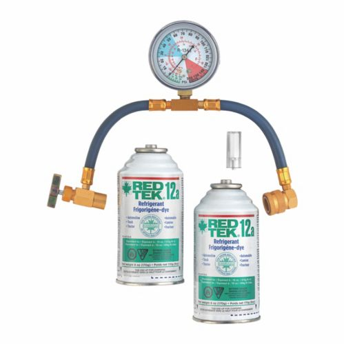 RED TEK A/C Refrigerant Recharge Kit Product image