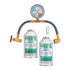 Refrigerant Simple /& Detailed Instructions R410a LEAK-STOP 410 Recharge Kit