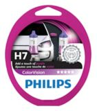 Ampoule de phare violet ColorVision Philips H7, paq. 2 | Philips | Canadian Tire