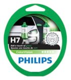 Ampoule de phare vert ColorVision Philips H7, paq. 2 | Philips | Canadian Tire