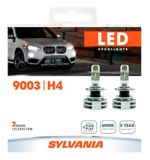 9003 Sylvania ZEVO® LED Headlight Bulbs, 2-pk | Sylvania | Canadian Tire