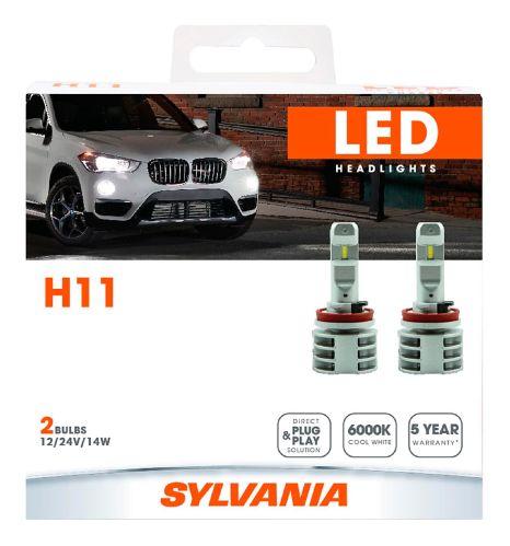 H11 Sylvania ZEVO® LED Headlight Bulbs, 2-pk Product image