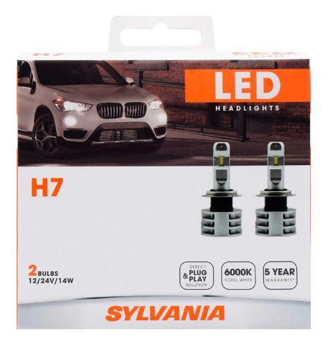 H7 Sylvania ZEVO® LED Headlight Bulbs, 2-pk Product image