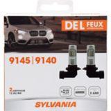 9145/9140 Sylvania ZEVO® LED Fog Lights, 2-pk | Sylvania | Canadian Tire