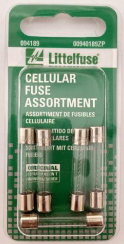 Littelfuse Cellular Fuse Assortment, 4-pk