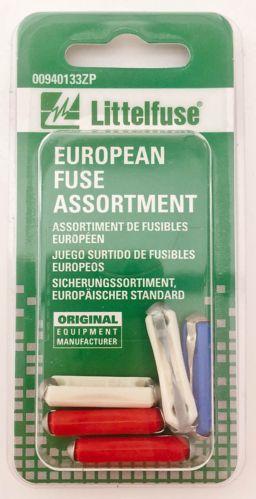 Littelfuse European Fuse Assortment, 5-pk