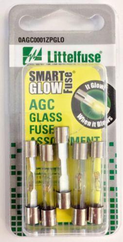 Littelfuse AGC Glass Fuse, Assorted, 5-pk Product image