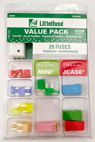 Fusibles Littelfuse Mini Jcase, 32 V, paq. 29