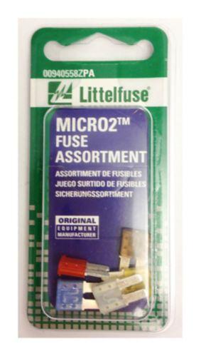 Littelfuse MICRO2 32V Blade Fuse, 5-pk