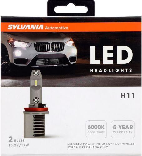 Ampoules de phare à DEL Sylvania H11, paq. 2 Image de l'article