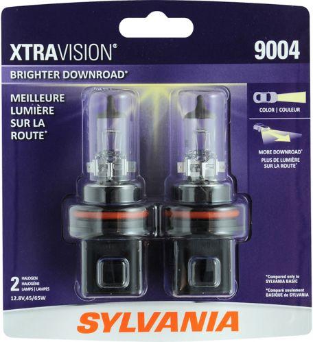 9004 Sylvania XtraVision® Headlight Bulbs, 2-pk