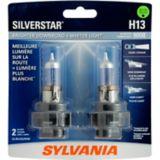 Ampoules de phare H13 Sylvania SilverStar, paq. 2   Sylvania   Canadian Tire