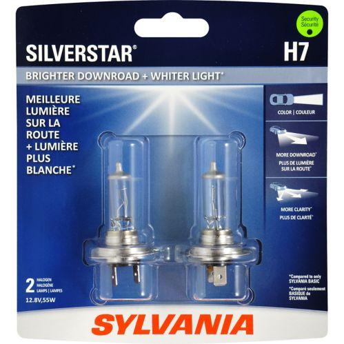 H7 Sylvania SilverStar® Headlight Bulbs, 2-pk