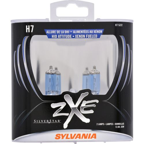 H7 Sylvania SilverStar® zXe Headlight Bulbs, 2-pk Product image