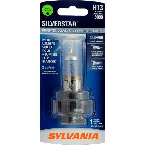 Ampoules de phare H13 Sylvania SilverStar, paq. 1