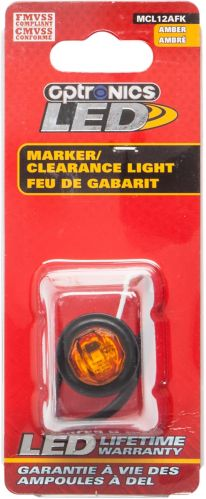 LED Clearance Penny Light, Amber