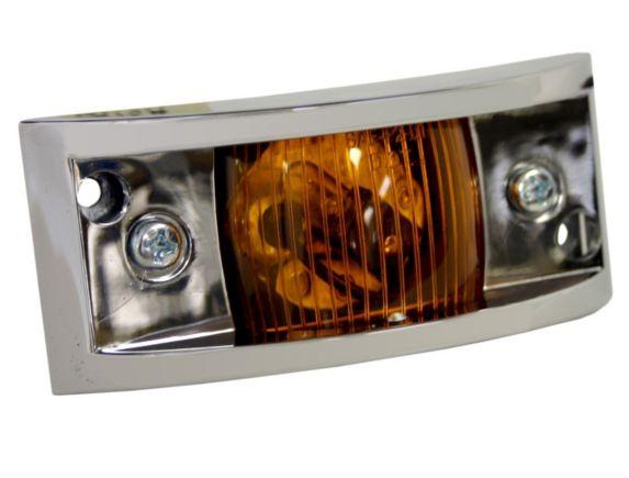 Chrome Automotive Clearance Light
