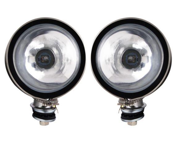 Pilot Automotive Round Driving Light, 6-in, 2-pk