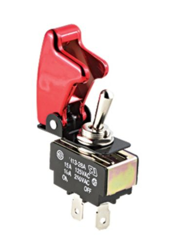 Red Safety Toggle Switch Product image